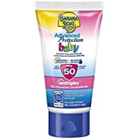 Banana Boat BABY Advanced Protection MINI - Crema Solar Protectora Anti-Arena para Bebés con Protección Alta SPF 50, MINI Loción 60 ml