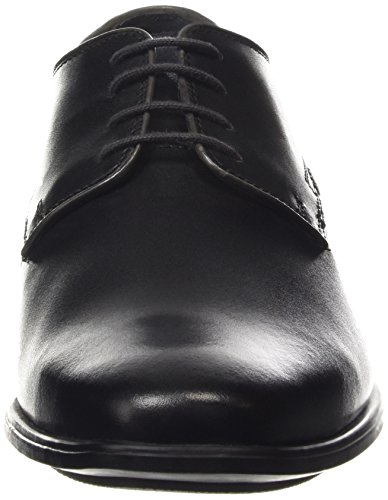 Hush Puppies Men's Kane Maddow Oxford, Black, 13 M US Black