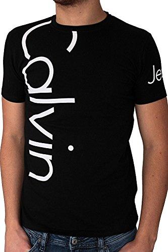 Calvin klein - maglietta da uomo cmp13s - nero, s