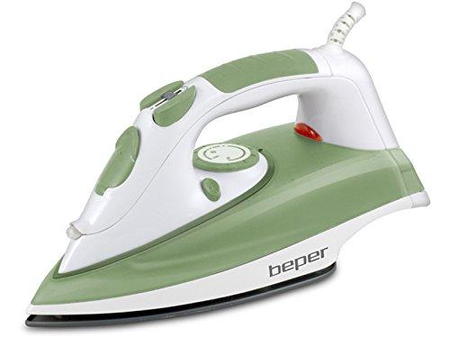 Beper 50,948N-Ferro da stiro a vapore, 2200 W, colore: verde