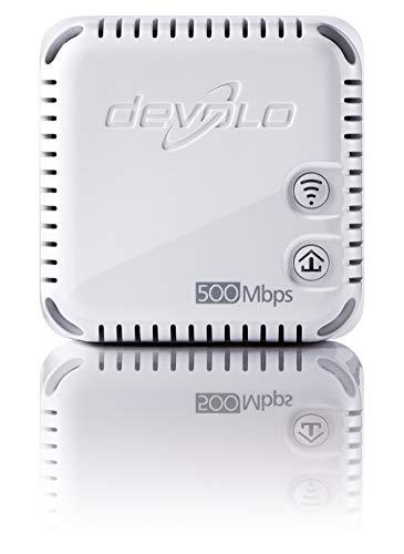 41w8ii4ZkVL - Devolo dLAN 500 duo (500 Mbit/s, 2 LAN Ports, Kompaktgehäuse, Powerline) weiß