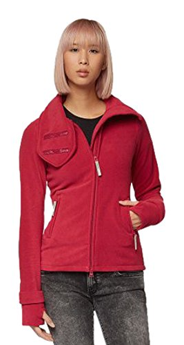 Bench Damen Funnel Neck Fleecejacke, Deep Pink, One Size
