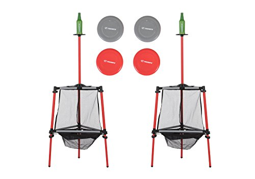 Triumph Two in One Disc Golf & Toss N Topple Target Game Outdoor Combo Set