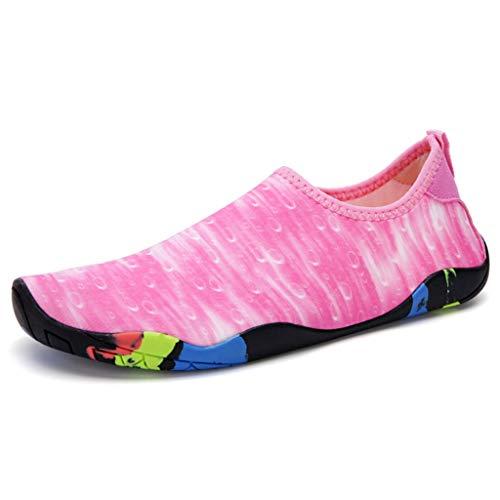 Scarpe da acqua per le donne Scarpe da acqua per uomo Scarpe da fitness per interno Squat Scarpe da corsa con tapis roulant leggere Scarpe da passeggio per camminare leggere e traspiranti Uomini e don