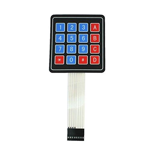 Sourcingmap - Matriz 4x4 16 tecla teclado