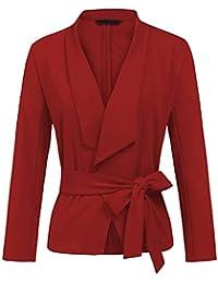 Amazon.it: cintura Tailleur e giacche Donna: Abbigliamento