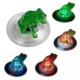 Solar Schwimmende Lichter Outdoor LED Farbwechsel Garten Lichter Schwimmteich Nachtlicht Wasserdicht für Schwimmbad oder Teich Dekoration frosch