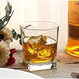 Best Scotch Glasses - Pasabahce Carre Glass | Square Stylish and Elegant Review