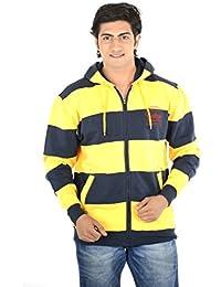Thread Craft Full Sleeve Striped Men's Sweatshirt