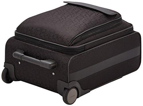 Calvin Klein  Trolley para portátiles, 55 cm, 44 L, Negro