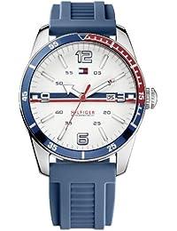 Tommy Hilfiger Watches Herren-Armbanduhr XL Analog Quarz Silikon 1790918