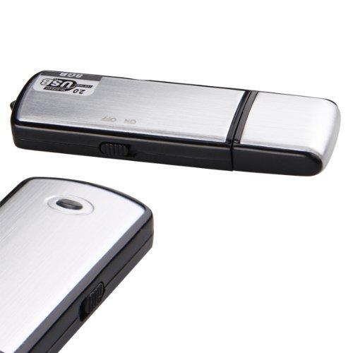 ILS REGISTRATORE VOCALE AUDIO 8GB SPIA CIMICE SPY 400 ORE VOICE RECORDER Mini Micro