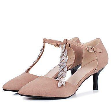 Zormey Frauen Heels Frühling Herbst Club Schuhe Gladiator Formelle Schuhe Komfort Neuheit Flower Girl Schuhe Knöchelriemen Hellen Sohlen Kundenspezifischen Materialien US6 / EU36 / UK4 / CN36