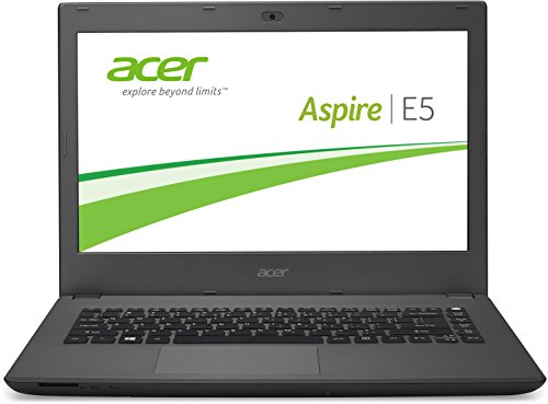 Acer Aspire E5-473G-59QT 35,5 cm (14 Zoll Full-HD) Notebook (Intel Core i5-5200U, 2,7GHz, 8GB RAM, 500GB SSHD, NVIDIA GeForce 940M, DVD, Win 8.1) schwarz (Notebook Holzkohle Schwarz)