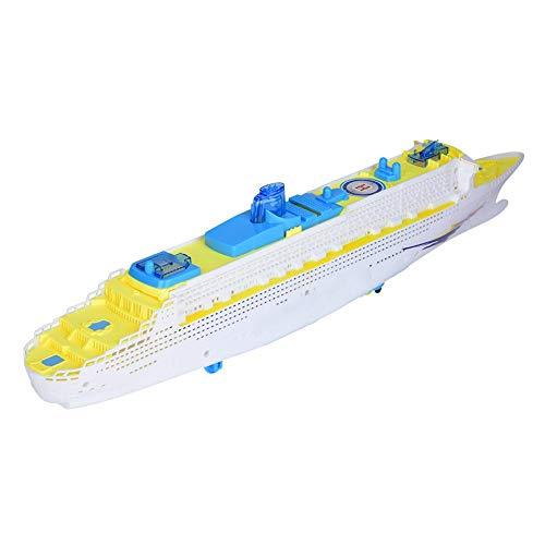 VGEBY Toy Boat, Kinder Electric Ship Kleinkind Lernspiel mit Musik, Licht
