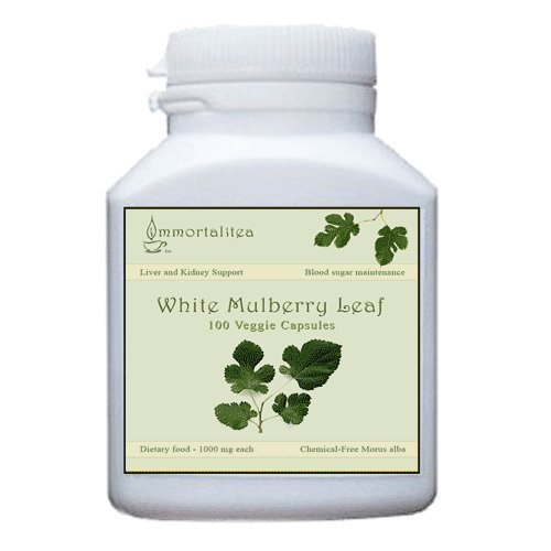 white-mulberry-leaf-capsules-100-veggie-capsules-500mg-each-by-the-immortalitea-company