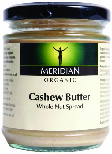 Meridian - Organic Cashew Butter Smooth 100% - 170g (Case of 6)