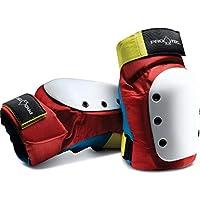 Pro-Tec Street Knee Pad Retro Red Rodilleras, Adultos Unisex, Multicolor (Multicolor), M
