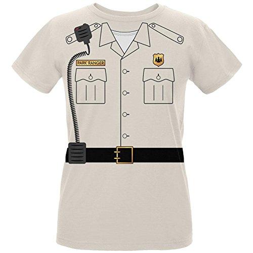 Forest Park Ranger Kostüm Damen Bio T Shirt Natürliche MD (Halloween Forest Park)
