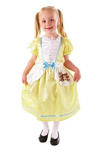Goldlöckchen-Kostüm für Mädchen-M 6-8 Jahre