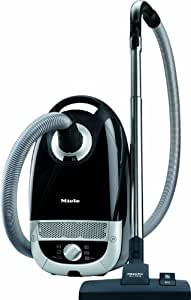 Miele Complete C2 Power Line Bagged Cylinder Vacuum Cleaner, 4.5 L, 1200 W - Black