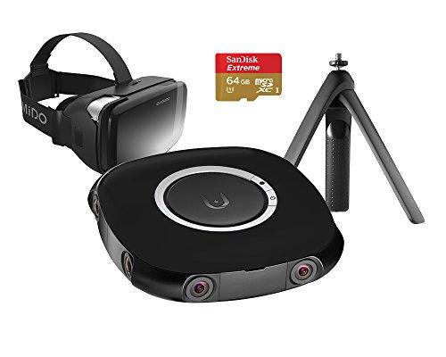VUZE 3D-360 Grad-4K VR Kamera Bundle schwarz
