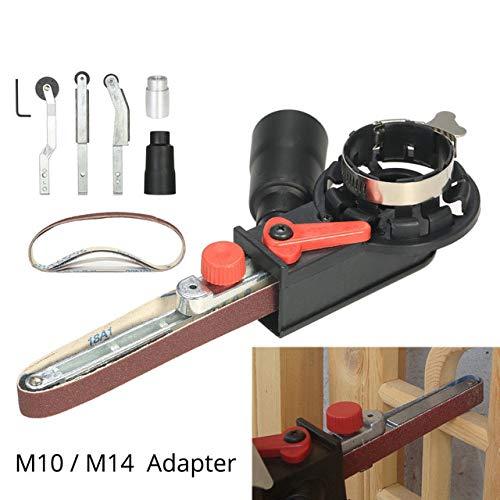 Mini DIY Sander Sander Belt Adapter Bandschleifer für 115mm 4,5
