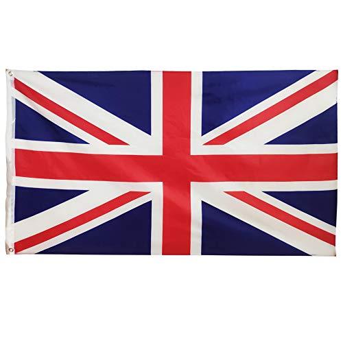 Oniche UK Flagge Britische Flagge Großbritannien Flagge Königliche Flagge Englische Flagge Groß, 5 x 3 ft/150 x 90 cm (UK, 1pc) -