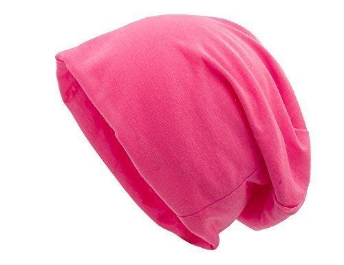 Shenky - Bonnet de chimiothérapie - fin - taille unique Rose Fluo - XXL