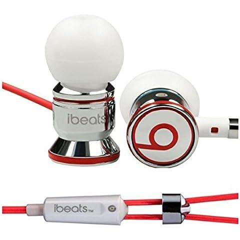 Beats by Dre ibeats cancelación de ruido auriculares in-ear, color blanco