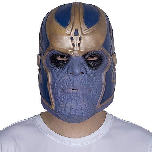 WULIHONG-MaskeScary Movie Maske Latex Vollkopf Horror Halloween Maske Latex Maskenx14020 (Halloween-rob Zombie-full Movie)