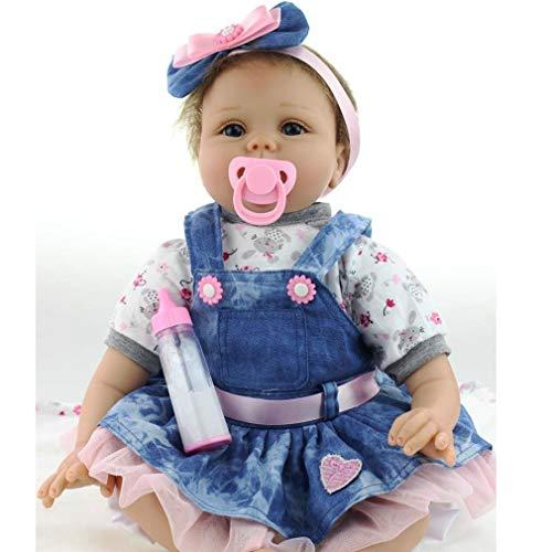 """ZIYIUI Handgemachte Puppe Realistische Weiche Reborn Puppen Realistische 22 """" / 55 cm Mädchen Geschenk"""