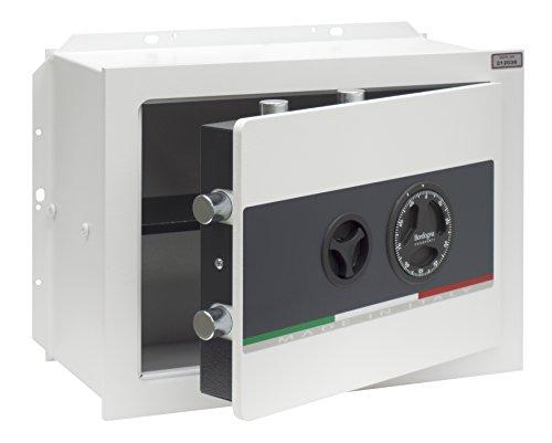 Bordogna Vesta 030/T Cassaforte da Muro con Combinatore Meccanico, Bianco
