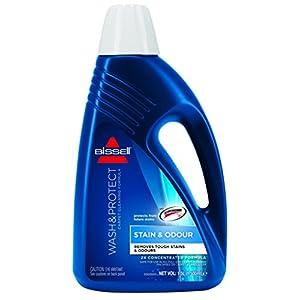Bissell Wash & Protect Doppel-Konzentrierter Teppichreiniger, Fleckenentferner, Formel (1 2, 3 oder 4 Flaschen á 1,5 l)
