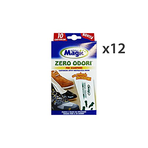 Mr Magic Set 12Mr. Magic Zero Gerüche Schuhschrank 10Blatt Stück Werkzeug Reinigung