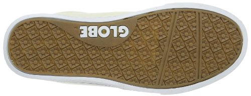 Globe LighHouse Slim, Chaussures de skate homme Blanc (antique 11689)