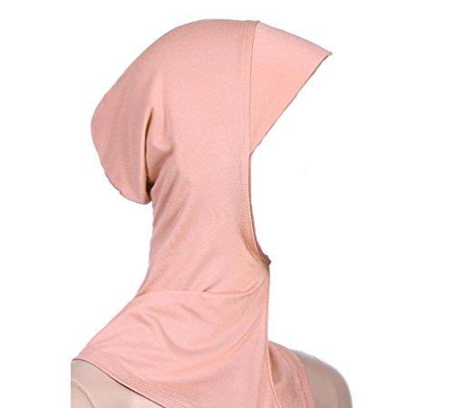 ILOVEDIY Damen Hijab Kopftuch Islamisch Kopfbedeckung Turban Bedecken Motorhaube Hals Brust Kopftücher