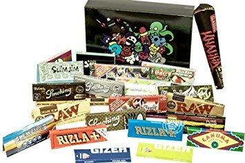 Slimjim 1 1/4 Size Premium Paper Box/ 420 Box/ Weed Box/ Rolling Paper Box