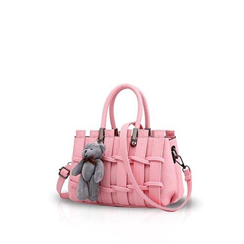 Bilis, Borsa a mano donna, Black (nero) - Bilis-453 Light Pink