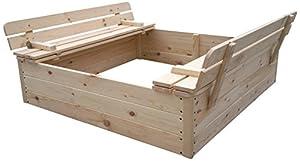 Outdoor Toys - Arenero de madera (KT12812)