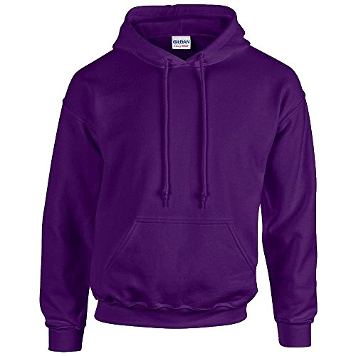 Gildan - Unisex Kapuzenpullover 'Heavy Blend' , Purple, Gr. S Hooded Damen-pullover