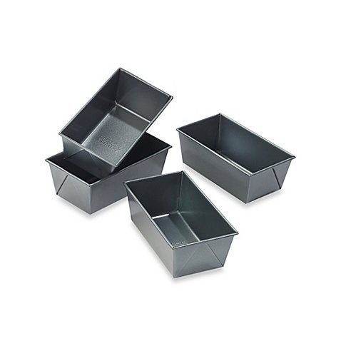 (Lot de 4) Chicago métallique professionnel Mini Poêles à cake (Chicago Cake Metallic Pan Mini)