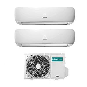 Condizionatore Climatizzatore Dual Split Inverter Hisense Mini Apple Pie 9000+12000 9+12 Btu A++ AMW2-16U4SGD1