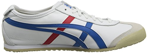 Onitsuka Tiger Mexico 66 Sneakers, Unisex Adulto Bianco (White/Blue/Red 0146)