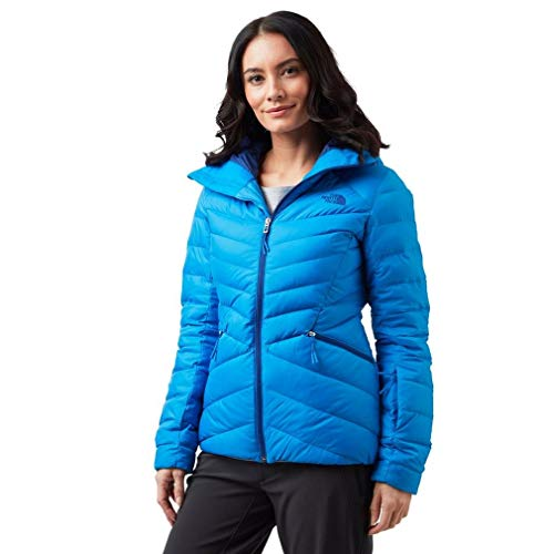 THE NORTH FACE W Moonlight Down JKT Bomber Blue L - Down Jacke Face Damen North
