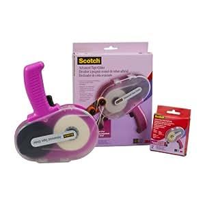 3M verschiedenen Materialien Scotch Advanced Tape Glider und Tape, Pink
