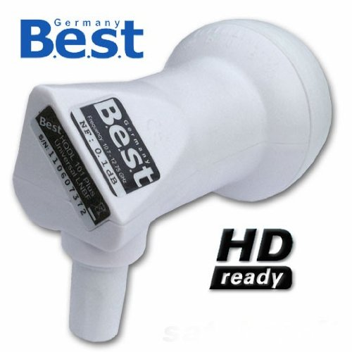 LNB Single 0,1 dB BEST Germany HDTV FuLLHD