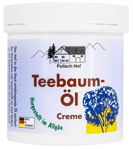 Teebaum-Öl Creme 250 ml vom Pullach Hof
