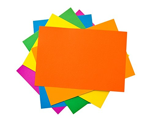 House of Card & Paper A3 220 gsm Card - Assorted Bright Colours (Pack of 25 Sheets) Test