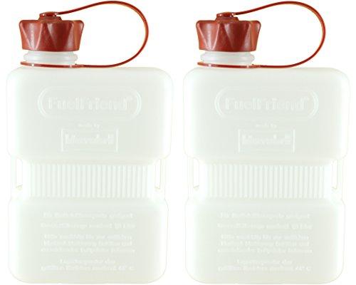 FuelFriend/®-BIG Clear Max 2,0 litres Jerrican avec Certification Un